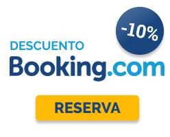 Descuento 10% en Booking.com