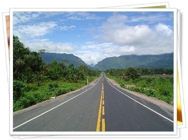 Carretera al sur de Bolivia