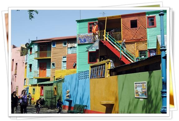 Casitas de colores en Caminito