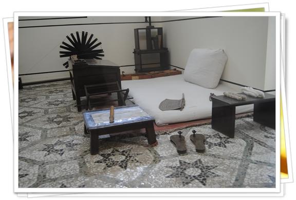 La casa de Gandhi