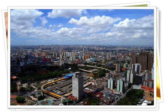 Sao Paulo desde Torre Banespa