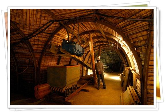 Interior del Museo de la Mineria