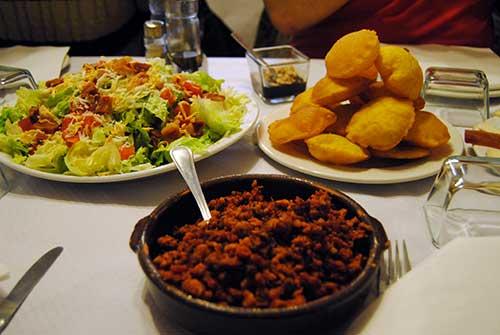 Un menú muy asturiano para cerrar una jornada imperdible