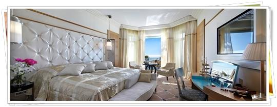 Habitación con playa privada
