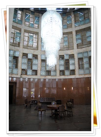 Interior de la Torre Banespa