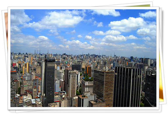 Vistas de Sao Paulo desde la Torre Banespa