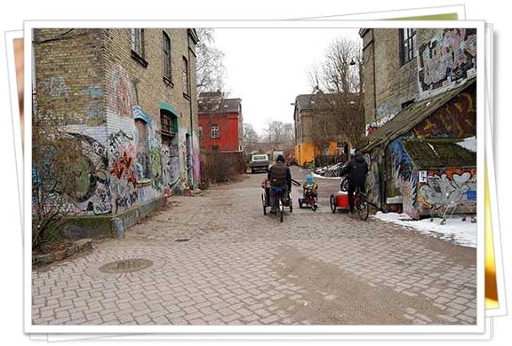Las calles de Christiania