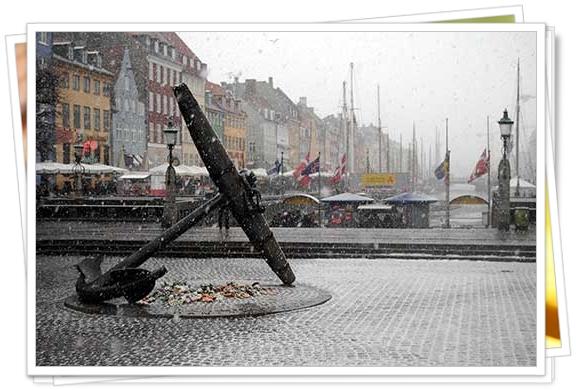 La tranquila y fría Copenhague