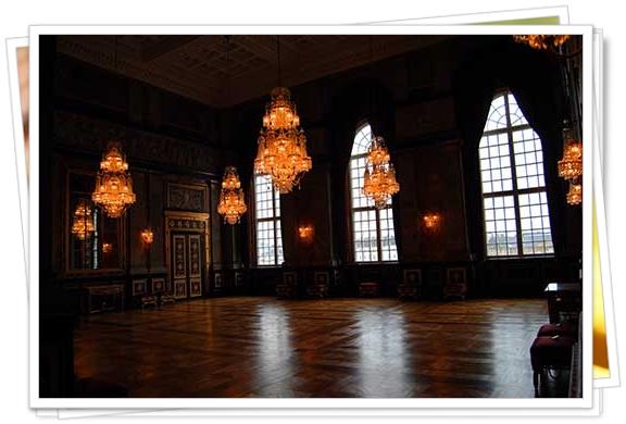 Interior del Palacio Real de Dinamarca