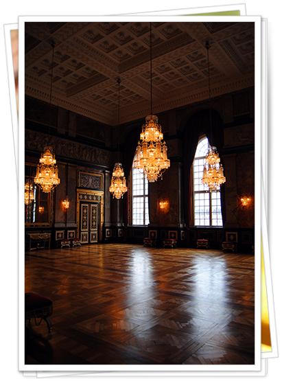 Interior del Palacio Christiansborg