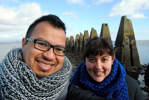Vuestros blogueros de viajes más intrépidos y SECOS! Muahaha!