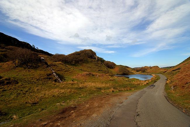 La carretera es uno de los grandes atractivos del sitio