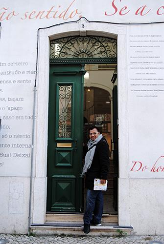 Casa de Fernando Pessoa en Lisboa