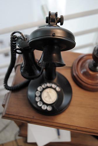 Teléfono de Pessoa en Lisboa