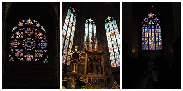 vidrieras catedral praga