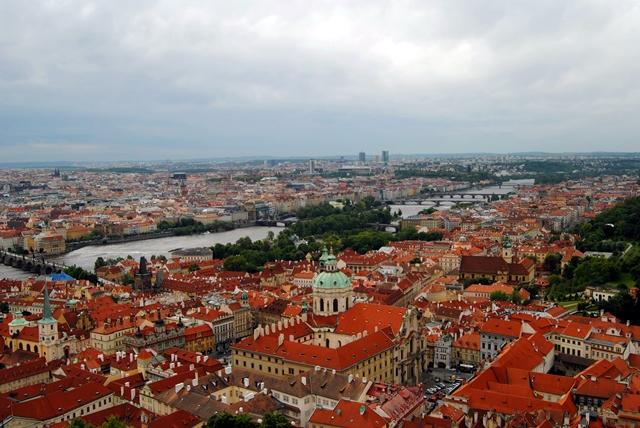 Praga, bella desde donde se la mire