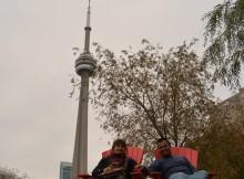 Subir a la CN Tower de Toronto