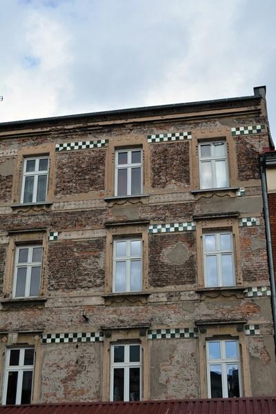 Viejos edificios casi abandonados