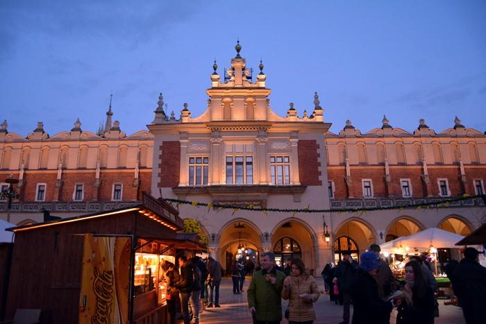 Mercadillos, uno de los atractivos de Cracovia