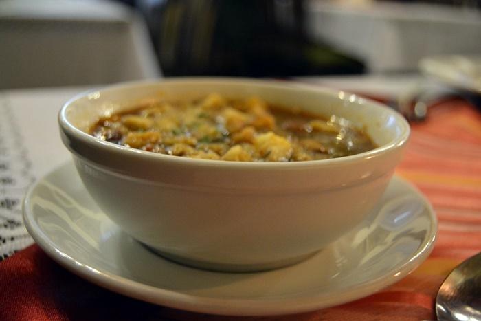 restaurante Ariel Cracovia sopa