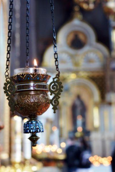 La belleza de la catedral ortodoxa es muy impresionante