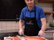 El salmón está presenbte en todos lados