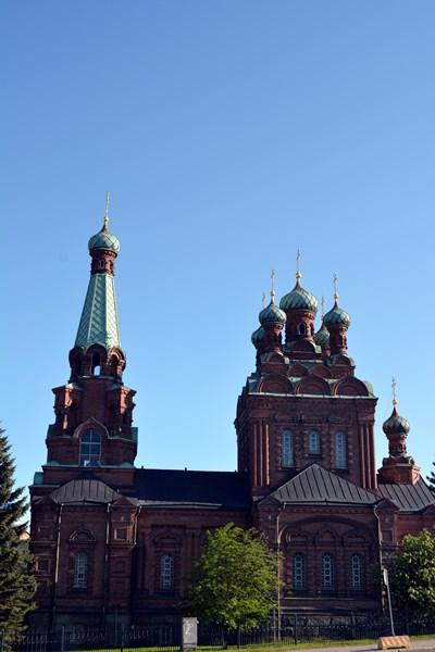 Majestuosa iglesia ortodoxa