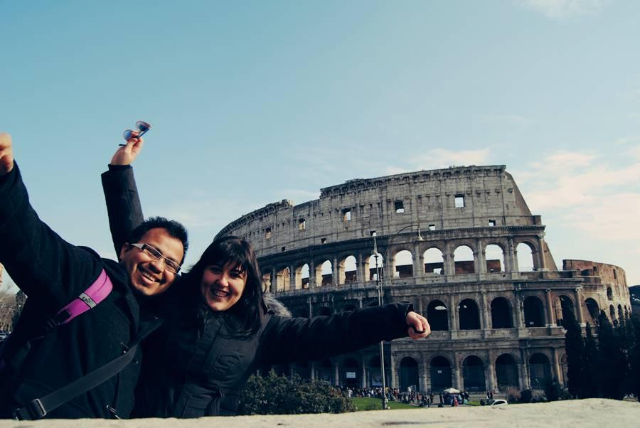 Viajer romántico a Roma