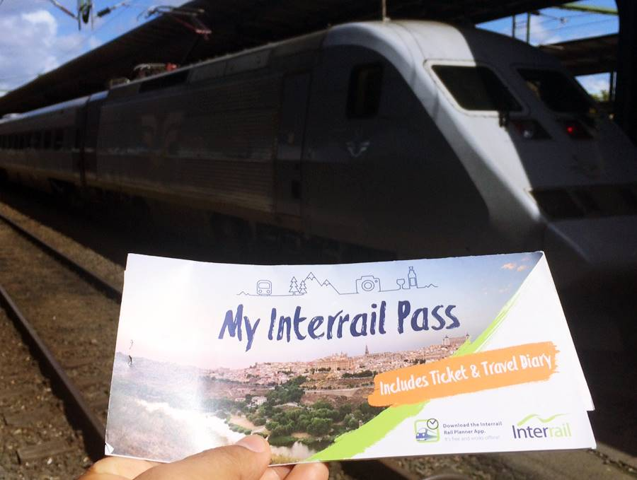 Viajar en tren por Suecia