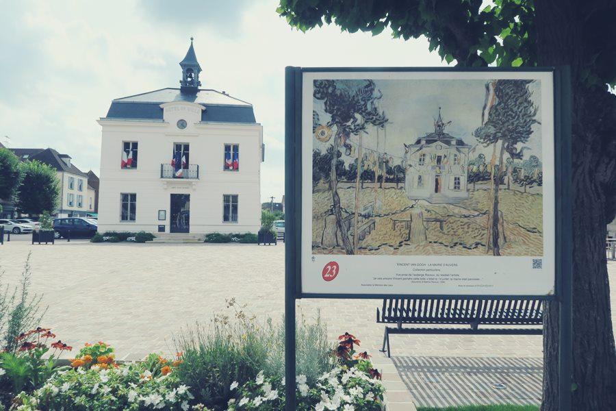 Visitar Auvers Sur Oise, el pueblo de Van Gigh - Ayuntamiento