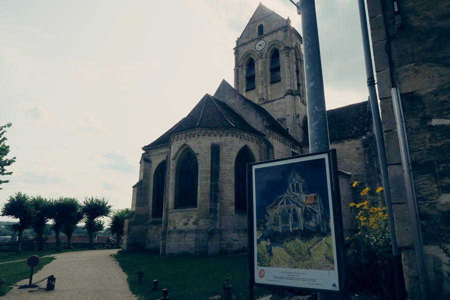 Visitar Auvers Sur Oise, el pueblo de Van Gigh - Iglesia