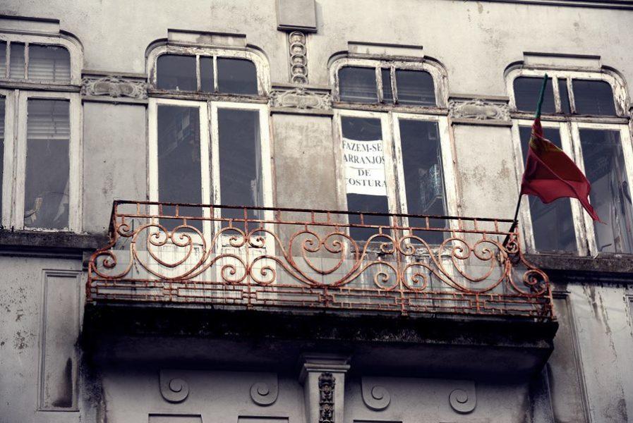 Visitar Oporto - Edificio viejo