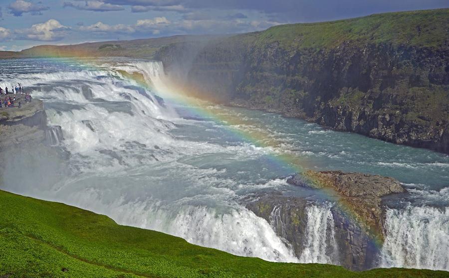 Cómo llegar a la cascada Gullfoss en Islandia