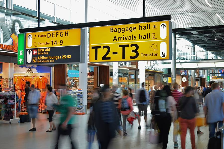 Esperar en los aeropuertos