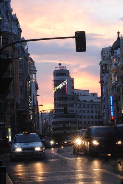 Viajar desde Madrid en otoño