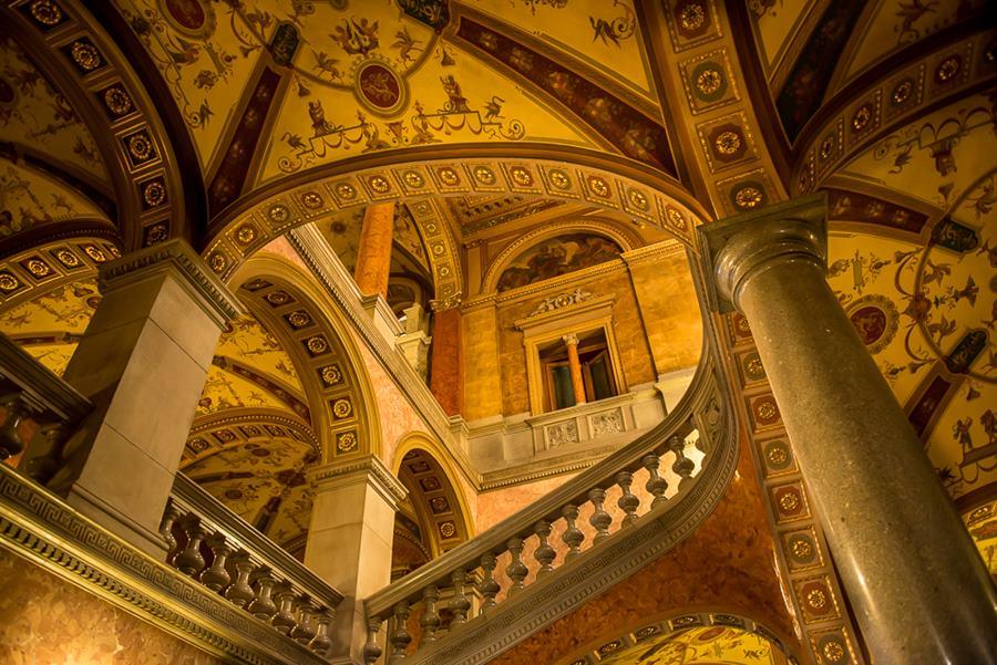 Visitar la ópera de Budapest