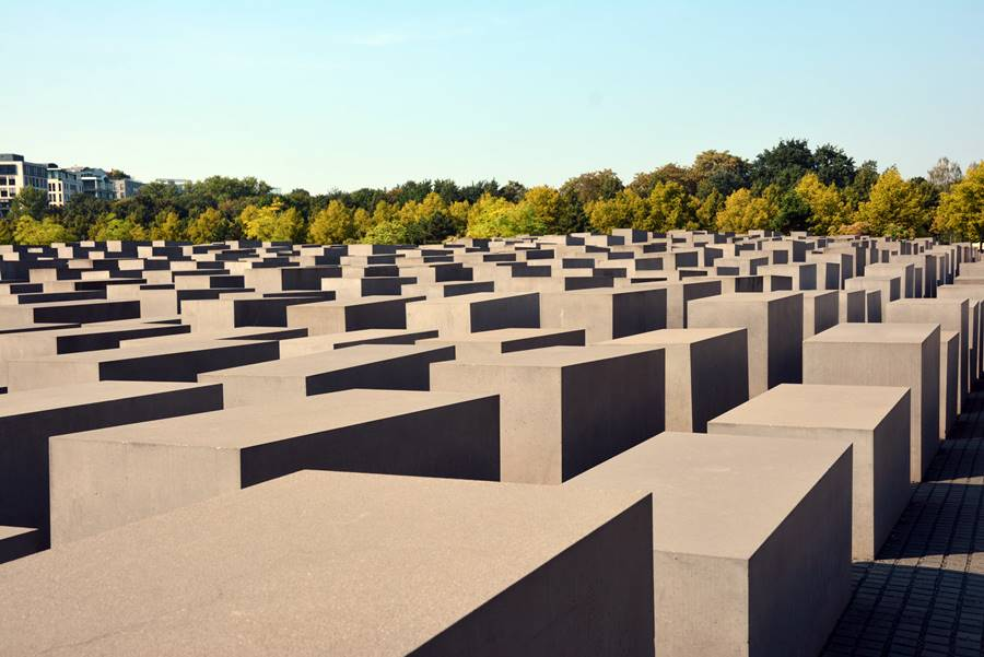 Visit the holocaust monument in Berlin