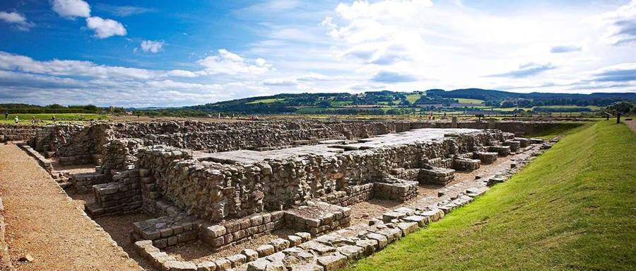 Recorrer el Muro de Adriano