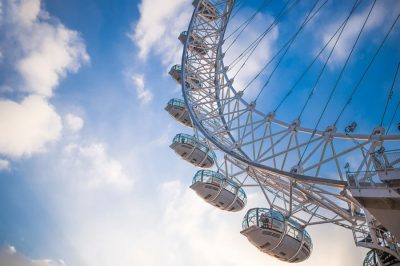Subir al London Eye