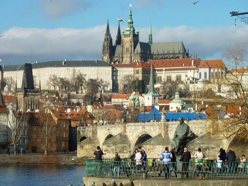 Visitar el castillo de Praga - Entrada