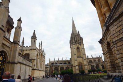 Viajar a Oxford
