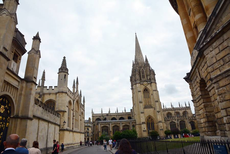 Viajar a Oxford