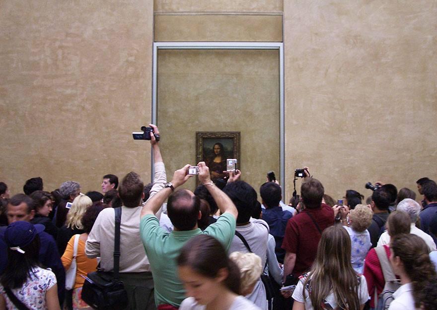 Postureo viajero - Mona Lisa