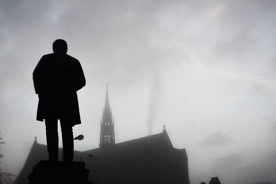 Escultura en sombra - Escapadas de un día desde Edimburgo