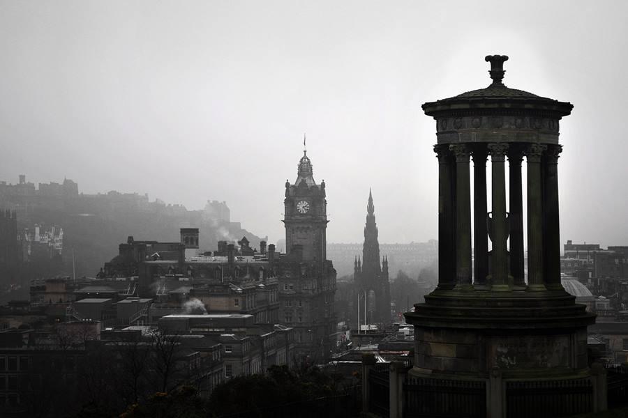 Visitar Edimburgo, Calton Hill - Blog de Viajes Edimburgo