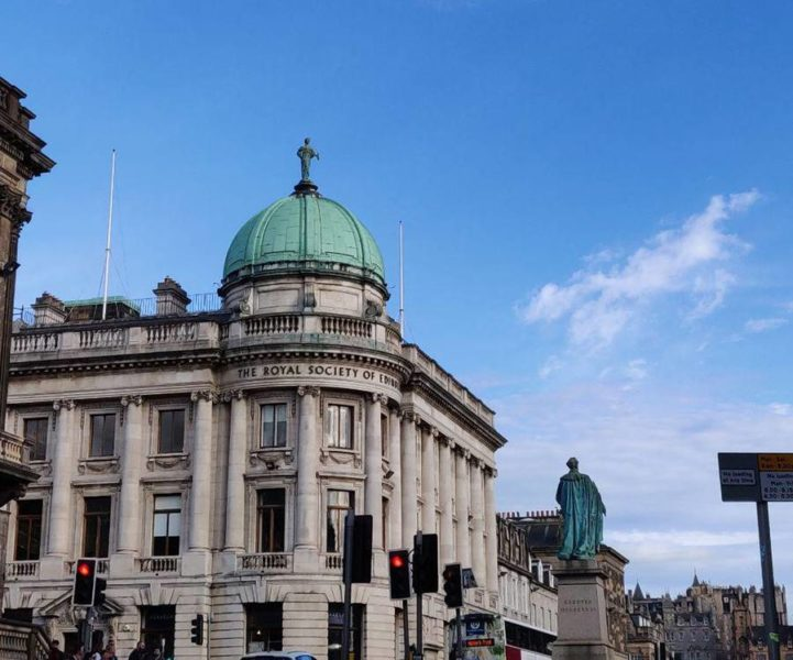 Tomar el Afternoon Tea en Edimburgo - Edificio por fuera