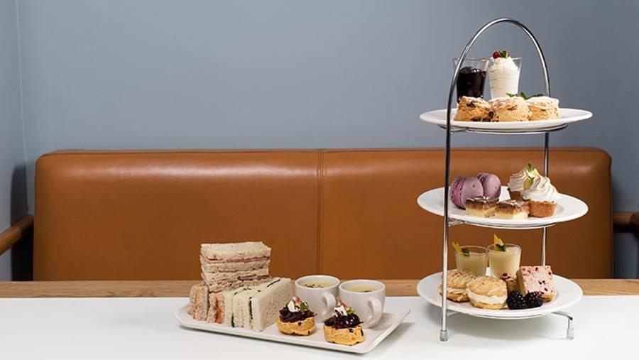 Tomar el Afternoon Tea en Edimburgo - Platos
