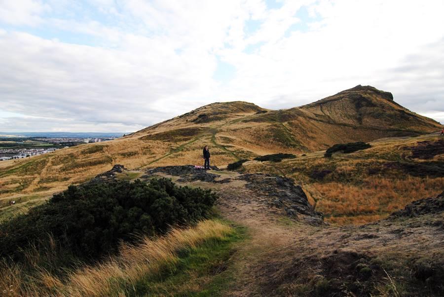 Qué no hacer en Edimburgo - Subir a Arthur Seat