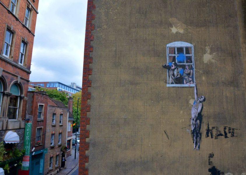 Banksy y Bristol