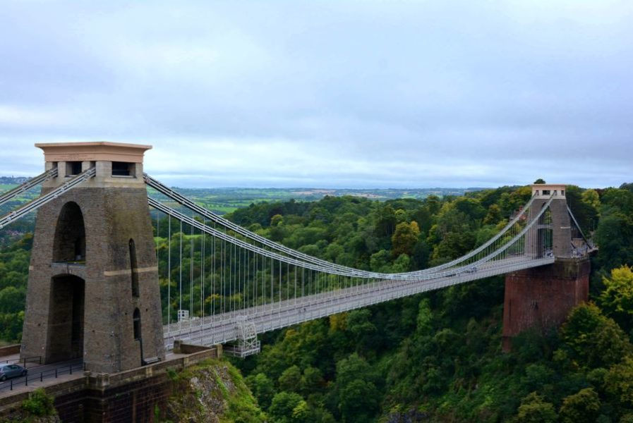 Clifton bridge en bristol